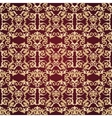 Abstract seamless decorative pattern background vector image