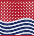 usa star background american patriotic vector image