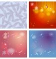 Abstract background card for Merry Christmas vector image