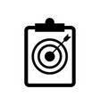 archery note icon icon simple element archery vector image