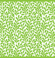 branch with leaves seamless pattern perfect for vector image vector image