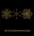 elegant christmas background with shining gold vector image