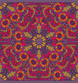 ethnic seamless pattern mandala design vector image vector image