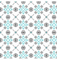 shapes-seamless-pattern vector image vector image