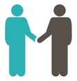 Agreement icon from Business Bicolor Set vector image