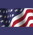 america flag background collection waving design vector image vector image