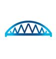 Arched Bridge vector image vector image