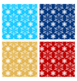 christmas endless pattern vector image vector image