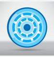 cyber eye symbol icon vector image vector image