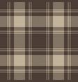 gray tartan plaid seamless pattern vector image vector image