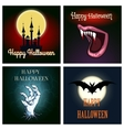 Halloween Theme Set vector image