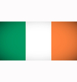 national flag ireland vector image vector image
