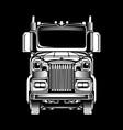 trucker vector image vector image
