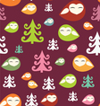 forest birds vector image