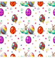 An Easter Sunday seamless design vector image