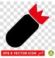 Aviation Bomb Eps Icon vector image