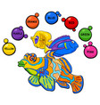 basic colors educational activity for kids vector image vector image