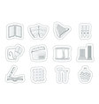 different kind of Arts Icons vector image vector image