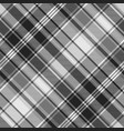 gray check fabric texture seamless pattern vector image vector image