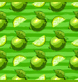 lime fruit seamless pattern citrus fruits repeat vector image vector image