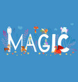 mythical mythological creates magic animals vector image vector image