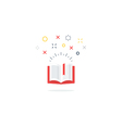 opened book icon and logo