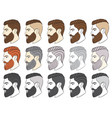 barber21 vector image vector image