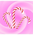 Candy Canes vector image vector image
