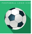 football logo icon vector image vector image
