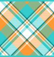 madras check plaid light seamless pattern vector image