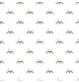 mars exploration rover pattern vector image vector image