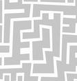monochrome aztec seamless pattern vector image vector image