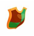 Protection shield concept icon cartoon style vector image vector image
