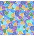 abstract hand-drawn waves texture wavy vector image