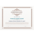 Certificate Design Template vector image vector image
