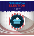 Digital usa election with vote box vector image vector image