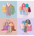 outwear accesoiries bags shoes womens look banner