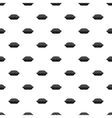 Pie pattern simple style vector image vector image