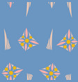seamless texture with floral background vintage vector image vector image