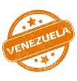 Venezuela grunge icon vector image vector image