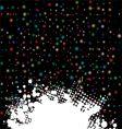 space dust splat vector image