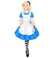 Beautiful Alice vector image vector image