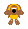 dog soft toy doggy vector image vector image