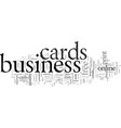 don t get ripped off with business cards vector image vector image