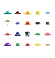 Hats Set Fashion for Men and Women vector image vector image