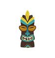 maya hawaiian ethnic idol totem icon vector image