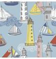 sailing pattern vector image