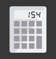 calculator design vector image