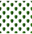 Alien pattern seamless vector image vector image