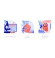 biomedical and molecular engineering vector image vector image
